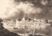 IVAN AIVAZOVSKY. View of Staraya Ladoga. 1835