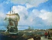 IVAN AIVAZOVSKY. The Great Roadstead, Kronstadt. 1836