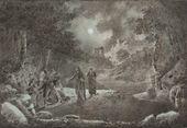 IVAN AIVAZOVSKY. The Betrayal of Judas. 1834