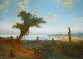 IVAN AIVAZOVSKY. Old Feodosia. 1839