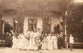 Aivazovsky's birthday party at the Shakh-Mamai estate. 1899