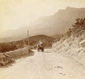 The road to Ai-Petri. 1900s
