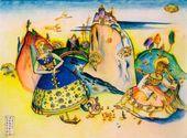 WASSILY KANDINSKY. Imatra. 1917