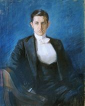 LÉON BAKST. Portrait of Dmitry Filosofov. 1897