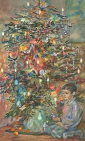 LEV BRUNI. A Wartime Christmas Tree. 1942