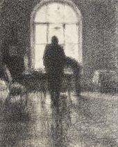 GEORGY VEREISKY. Window at Dusk. 1928