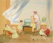 NINA KASHINAPAMYATNYKH. Children's Nursery. 1934