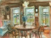 ILLARION GOLITSYN. A Light Room. 1986