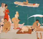 By the Sea. Family. 1964. Detail