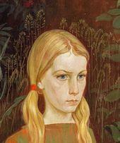 Sunday. 1973. Detail. Katya Golitsyna