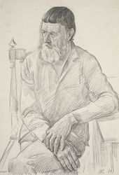 The Artist Alexander Sukhanov. 1984