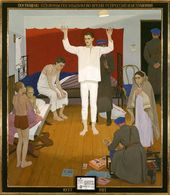 1937. Central panel of the triptych. 1987