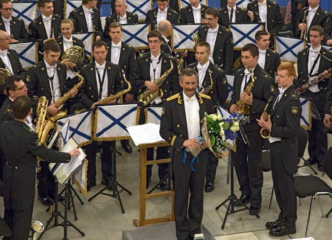 On November 11 2016, the Rimsky- Korsakov Central Exemplary Navy Concert Band of Russia
