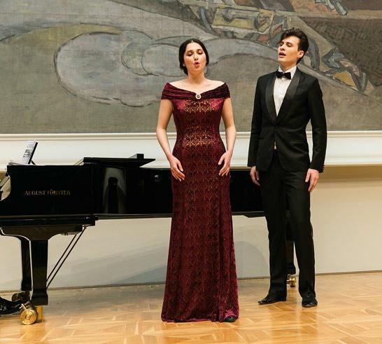 From left: Utarida Mirzamova, Vadim Babichuk