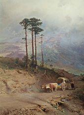 Fyodor VASILYEV. In the Crimean Mountains. 1873