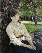 Valentin SEROV. Girl in the Sunlight. 1888