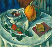 Alexander KUPRIN. Still-life with Pumpkin. 1912