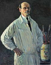 Mikhail NESTEROV. Self-portrait. 1928