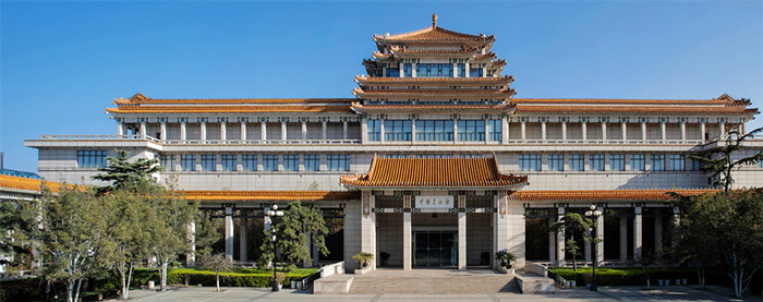 National Art Museum of China, exterior