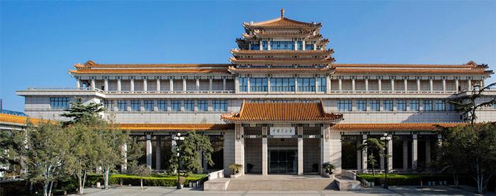 National Art Museum of China, exterior