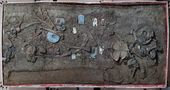 Fuquanshan Site, Shanghai. Panoramic view of M207. Dignitary Tomb of Liangzhu Culture