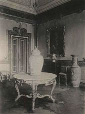 The Small Chinese Cabinet at the Chinese Palace. Photograph. c. 1925-1927