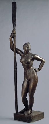 Ivan SHADR. Girl with an Oar. 1934–1935