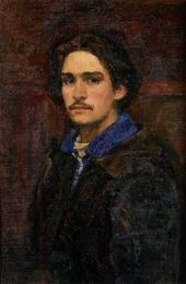 Viktor IVANOV. Self-portrait. 1943