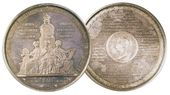 FYODOR TOLSTOY. A medal commemorating the 50th anniversary. 1854