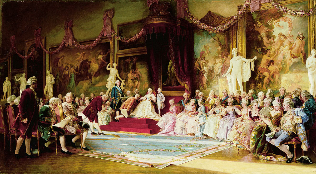VALERY JACOBI. Inauguration of the Imperial Academy of Arts on July 7 1765. 1889