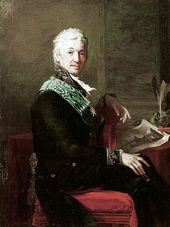 JEAN LAURENT MOSNIER. Count Alexander Stroganov, the President of the Imperial Academy of Arts. 1804