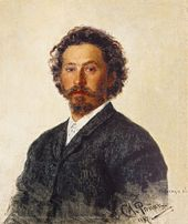 ILYA REPIN. Self-portrait. 1887