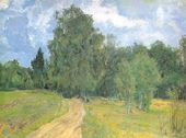 VASILY BAKSHEEV. The Road to the Academy Dacha