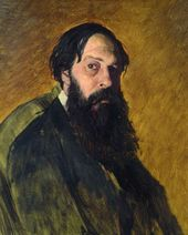 VASILY PEROV. Portrait of Alexei Savrasov. 1878