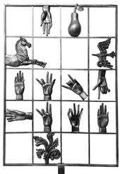 ALEXANDER BURGANOV. Fingerspelling Alphabet. 2008