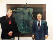 Yevgeny Yevtushenko and Zurab Tsereteli
