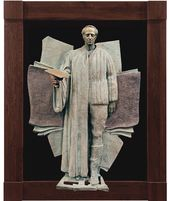"ZURAB TSERETELI. Joseph Brodsky. Sculptural reliefs from the series ""My Contemporaries"". Bronze. 1999–2001"