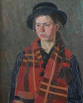 NIKOLAI BOROVSKOI. Youth. Katya. 1980