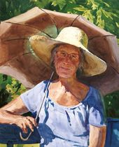 SERGEI ANDRIAKA. Portrait with an Umbrella. 1996