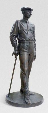 ANDREI KOVALCHUK. Monument to Ivan Bunin. 2017