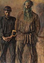 Отец и сын (Сергей Михайлович Чураков и Степан Сергеевич Чураков). 1931