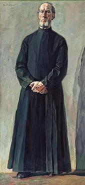 Протодьякон Холмогоров. 1935