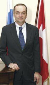 Обращение посла Швейцарии в Российской Федерации Пьера Хельга