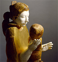 Аделаида Пологова - скульптор assoluta. «...И след мой сохрани»