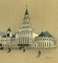 Проект вокзала 1912–1913 годов. Первые приглашенные художники