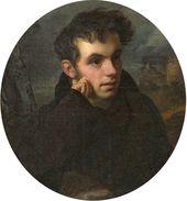 OREST KIPRENSKY. Portrait of Vasily Zhukovsky. 1816