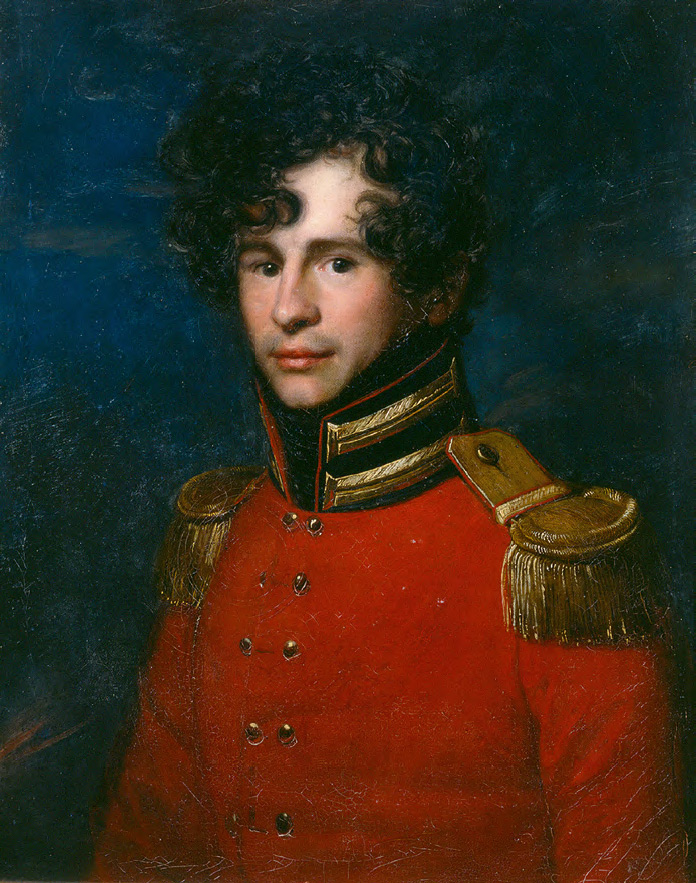 CARL CHRISTIAN VOGEL VON VOGELSTEIN. Portrait of Ivan Leontyev. No later than 1812