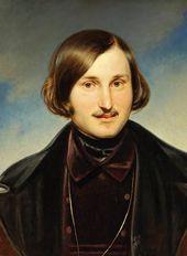 FYODOR MOLLER. Portrait of Nikolai Gogol. Early 1840s