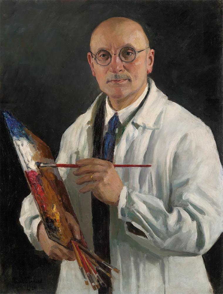 IGOR GRABAR. Self-portrait. 1934