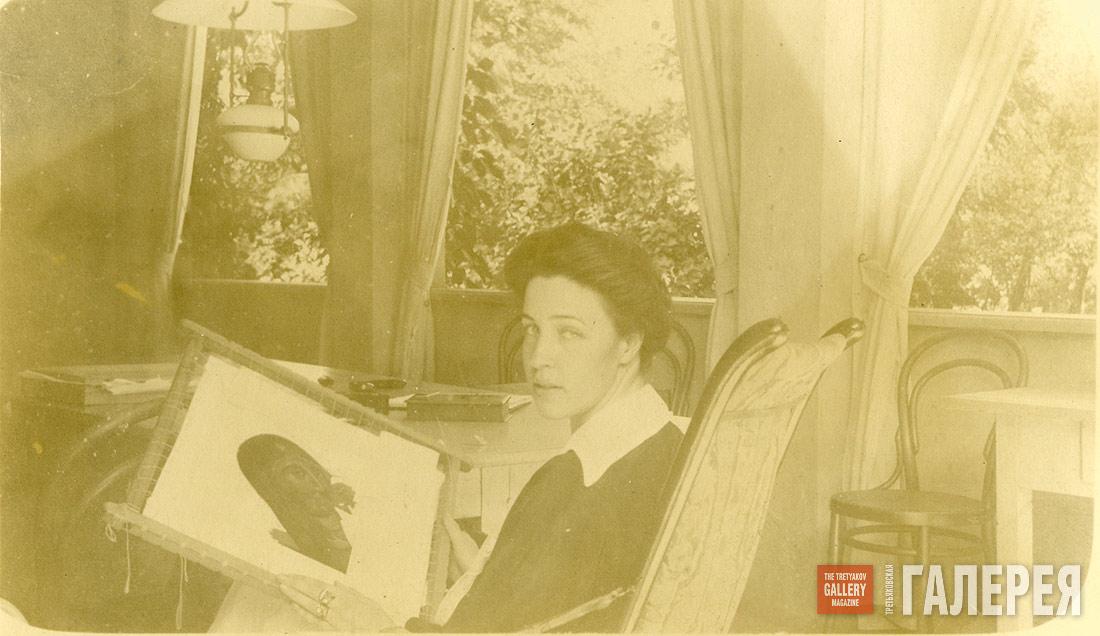 OLGA NESTEROVA-SHRETER AT WORK